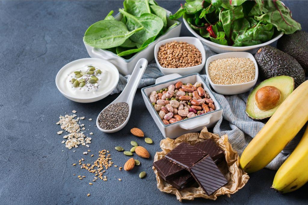 Magnesiumia sisältäviä ruokia