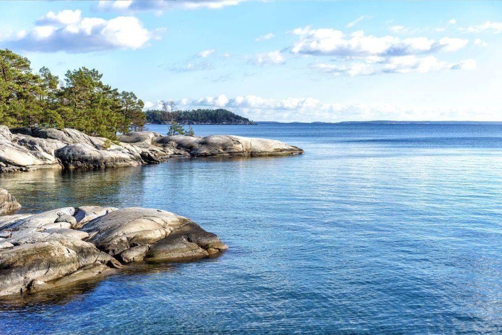 Kaunista Itämeren saaristoa.