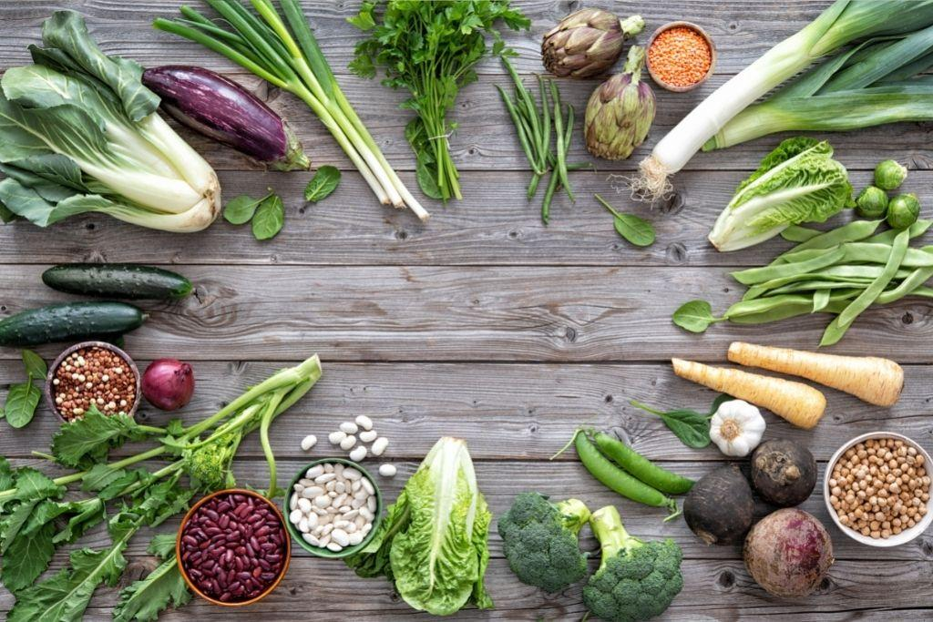 erilaisia B-vitamiinia sisältäviä kasviksia